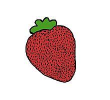 Strawberry Fruit Photographic Print