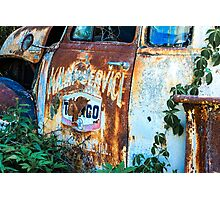 Rusty Truck #2 Photographic Print