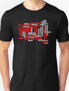 Class 50 Name Typographic Art T-Shirt
