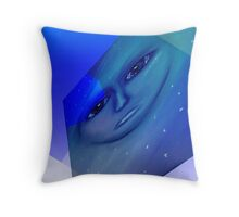Talk til you're blue in the face! Throw Pillow