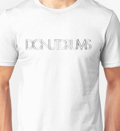 DonutDrums Hollow Black Unisex T-Shirt