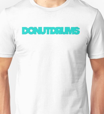 DonutDrums Aqua Teal Unisex T-Shirt