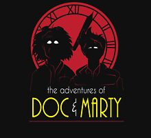 The Adventures of Doc & Marty Unisex T-Shirt