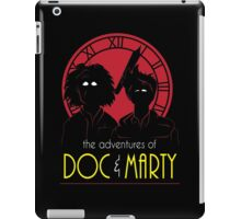 The Adventures of Doc & Marty iPad Case/Skin