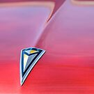1961 Pontiac Catalina Hood Emblem by Jill Reger