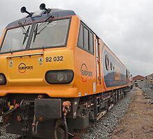 92 032 at Railfest 2012 in York by Keith Larby