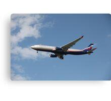Airplane in the air Canvas Print