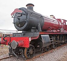 """GWR 4900 Class 5972 Olton Hall """"Hogwarts Express"""" by Keith Larby"""