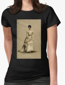 Fancy dresses described or What to wear at fancy balls by Ardern Holt 080 Classic Womens Fitted T-Shirt