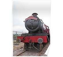 The Wizard Express GWR 4900 Class 5972 Poster