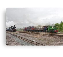 Full steam ahead Canvas Print