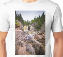 Black Brook Falls Unisex T-Shirt