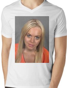 Lindsanity Mens V-Neck T-Shirt