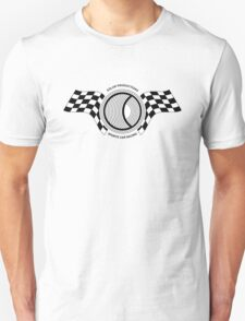 Steve McQueen Solar Productions Sports Car Racing Black Text T-Shirt