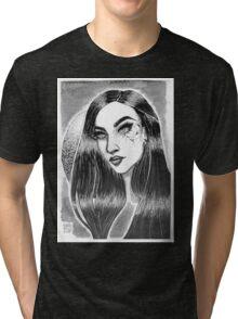 Cracked Girl Tri-blend T-Shirt
