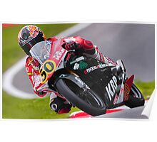 Bike 50 . 125cc racing . Poster