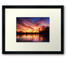 A moment in time pt.3. Framed Print