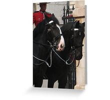 Awaiting inspection Greeting Card