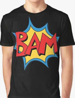 COMIC BOOK: BAM! Graphic T-Shirt