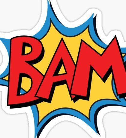COMIC BOOK: BAM! Sticker