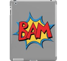 COMIC BOOK: BAM! iPad Case/Skin