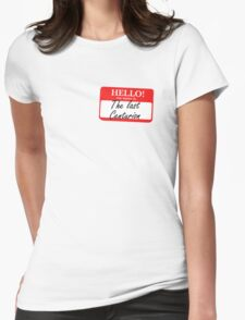 My Name is the Last Centurion Womens Fitted T-Shirt