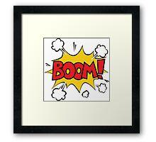 COMIC BOOK: BOOM! Framed Print
