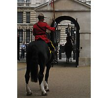 Changing the Guard Photographic Print
