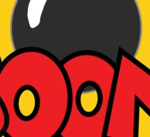 COMIC BOOK: BOOM BOMB! Sticker