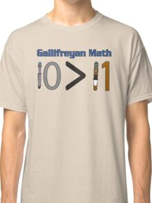 Gallifreyan Math Classic T-Shirt