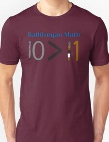 Gallifreyan Math Unisex T-Shirt