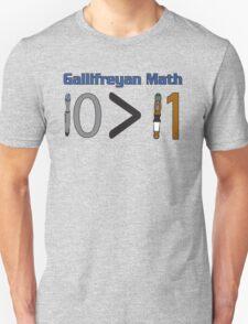 Gallifreyan Math Unisex T-Shirt