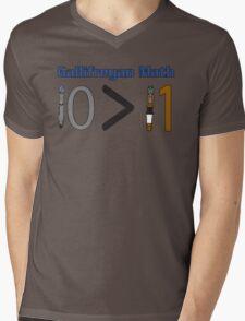 Gallifreyan Math Mens V-Neck T-Shirt