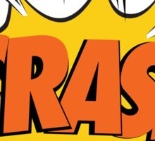 COMIC BOOK: CRASH! Sticker