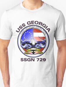 USS Georgia (SSGN-729) Crest Unisex T-Shirt