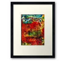 Living in Foreign Territory Framed Print