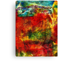 Living in Foreign Territory Canvas Print