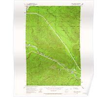 USGS Topo Map Washington State WA Eagle Gorge 240915 1953 24000 Poster