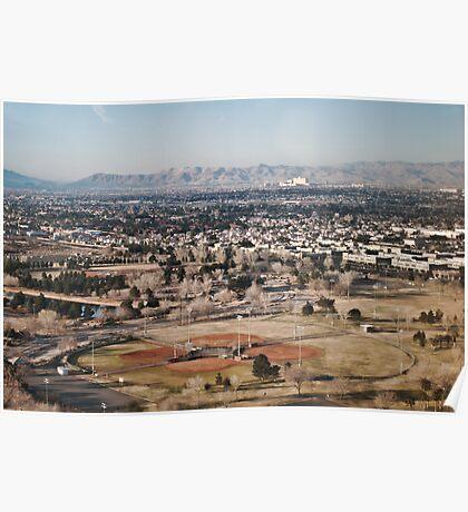 Phoenix Arizona Papago Softball Complex Poster