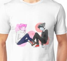 Adventure time Prince Gumball and Marshall Lee  Unisex T-Shirt