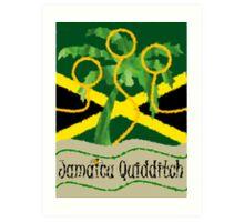 Jamaica Quidditch Art Print