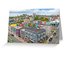 The City of 10,000 Colours Greeting Card