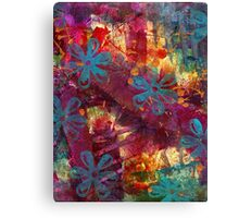 Blue Blessings Abound Canvas Print