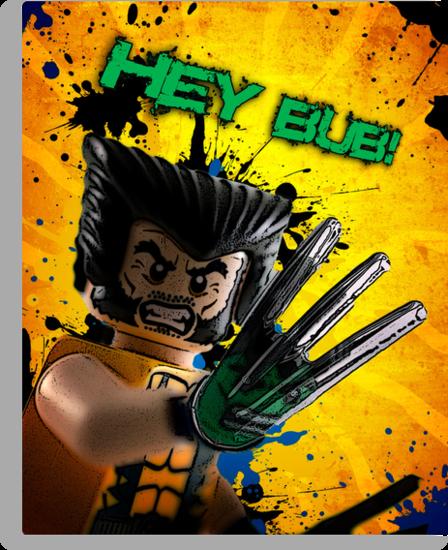 Wolverine vs Hulk by plopezjr