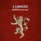 Game of Thrones: Lannister  by kevinlartees