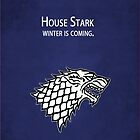Game of Thrones: Stark by kevinlartees
