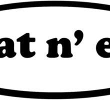 heat n eat Sticker