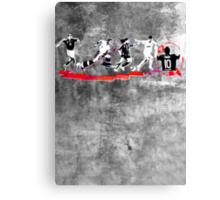 Evolution of Modern Football Canvas Print