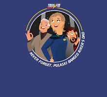 Trek.fm: Pulaski (Dark) Unisex T-Shirt