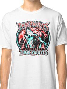 TIMBERWOLVES WHITE Classic T-Shirt